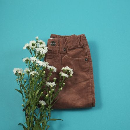 Pantalon velours marron 12 mois