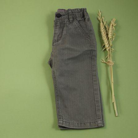 Pantalon en toile greige 6 mois