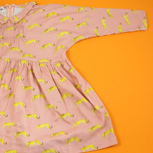 Robe panthere 2 ans