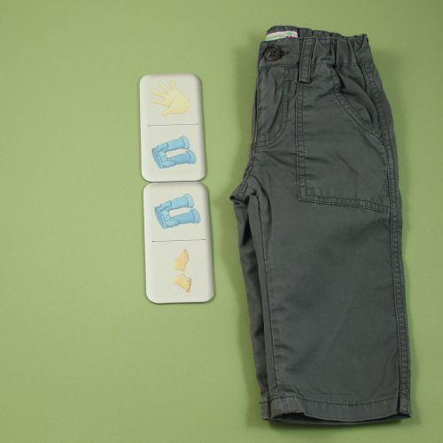 Pantalon fin greige 6 mois
