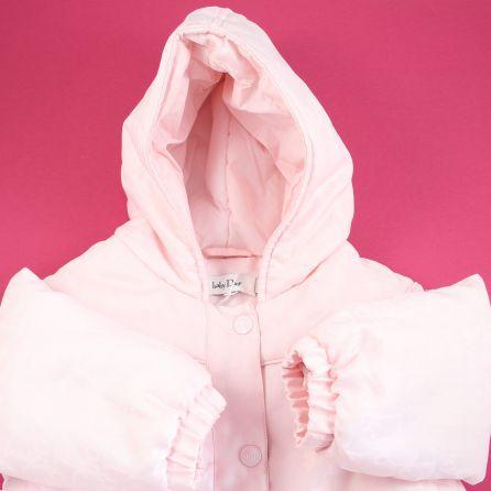 Manteau rose 12 mois