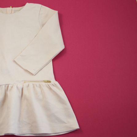 Robe rose claire 2 ans