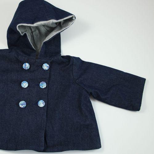 veste à capuche 6 mois