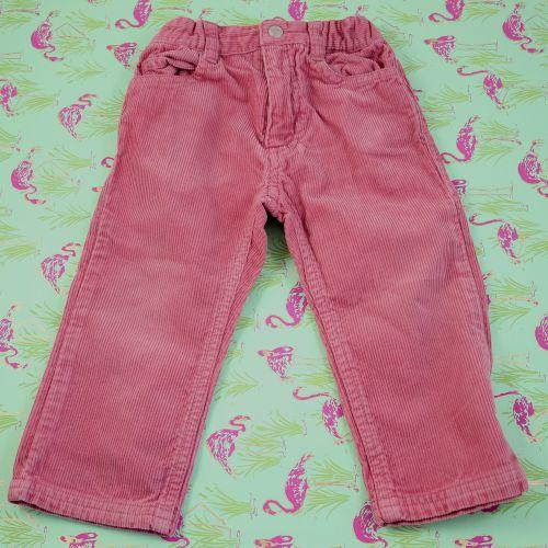 Pantalon en velours rose 18 mois