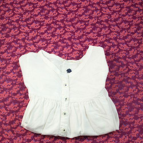 Chemise blanche 6 ans