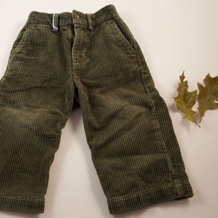 Pantalon en velours 18 mois