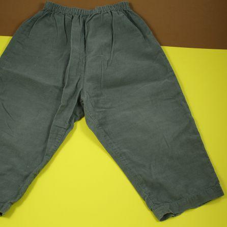 Pantalon en velours fin 2 ans