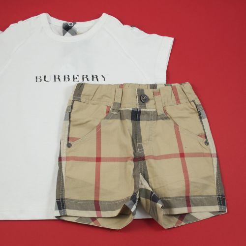 Ensemble tee-shirt et short 12 mois