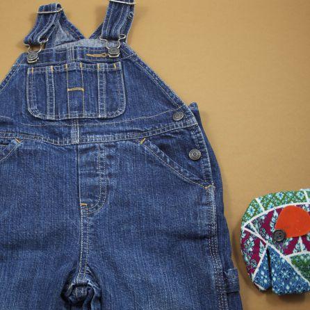 Salopette en jean 12-18 mois