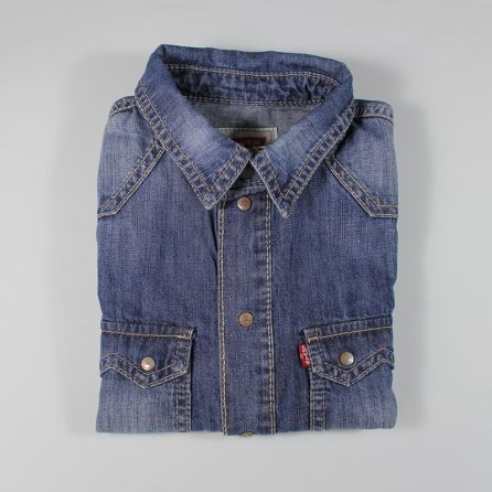 Chemise en jeans 6 ans