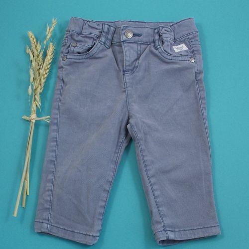 Jean bleu gris 12 mois