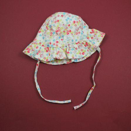 chapeau de soleil 0/1 mois