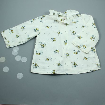 blouse fleurie 6 mois
