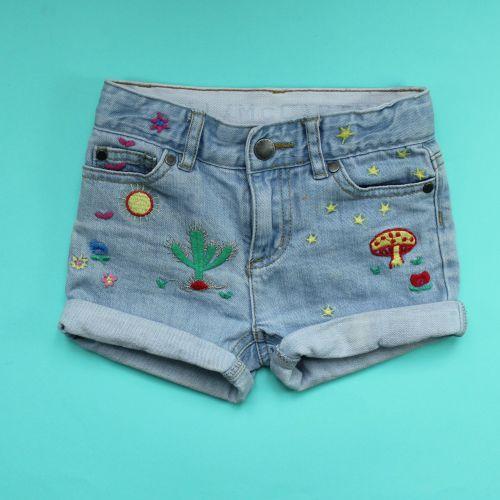 short en jeans 3 ans