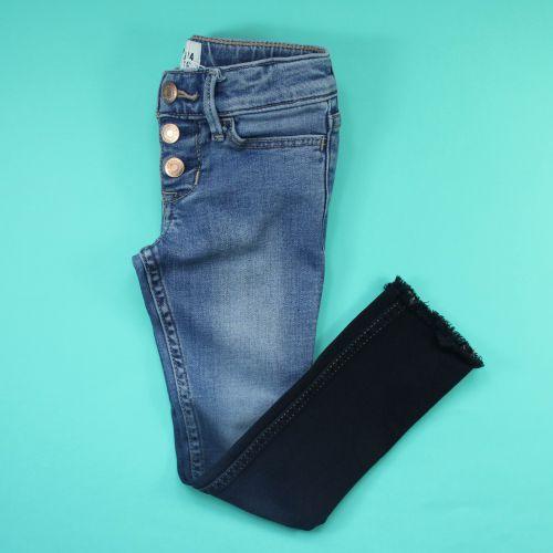 jeans tie&die 3/4 ans