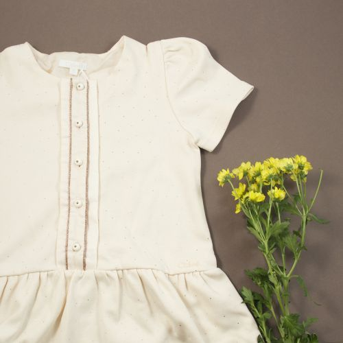 Robe rose pale 2 ans