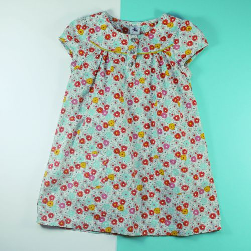 robe à fleurs 3 ans