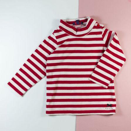 tee-shirt col roulé 1 an