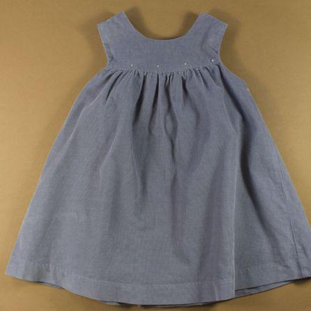 robe en velours 12 mois