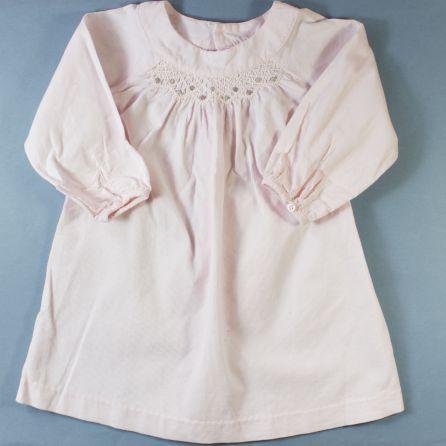 robe velours 12 mois