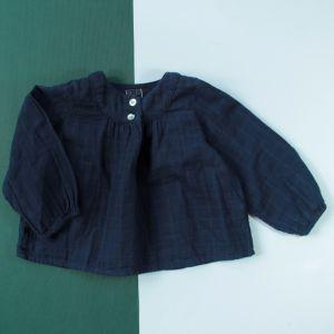 blouse marine 18 mois