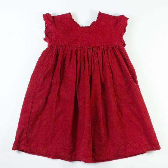 robe velours 4 ans