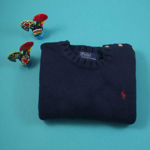 Pull bleu marine