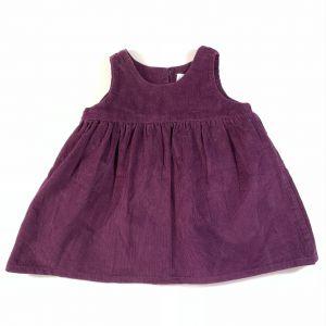 robe velours 3 mois