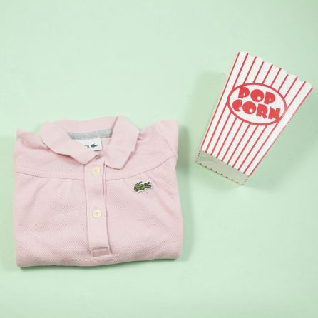 Polo rose 1 an