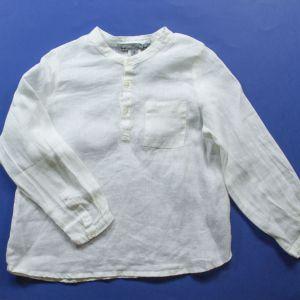 blouse lin 4 ans