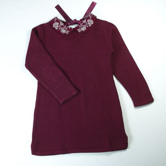 robe maille 4 ans