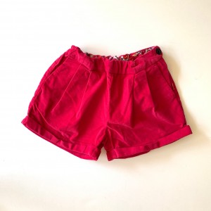 short velours 8 ans