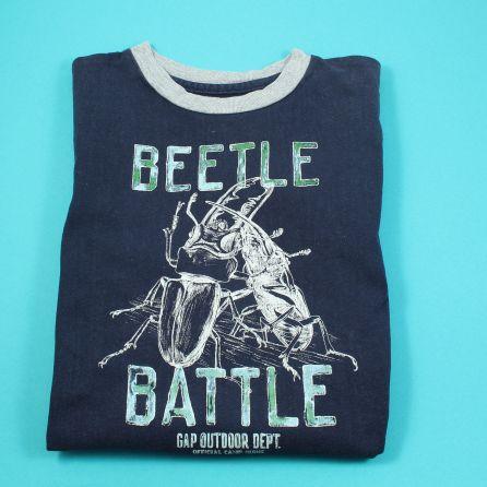 T-shirt 6-7 ans Bleu marine