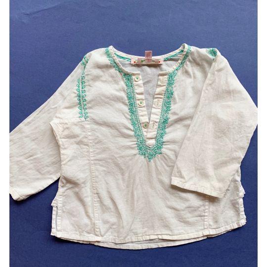 blouse brodée 18 mois