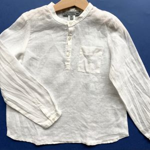 blouse lin 6 ans
