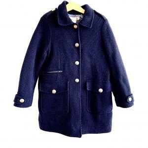 Manteau laine 8 ans