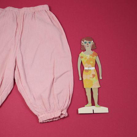 pantalon léger rose 6 mois