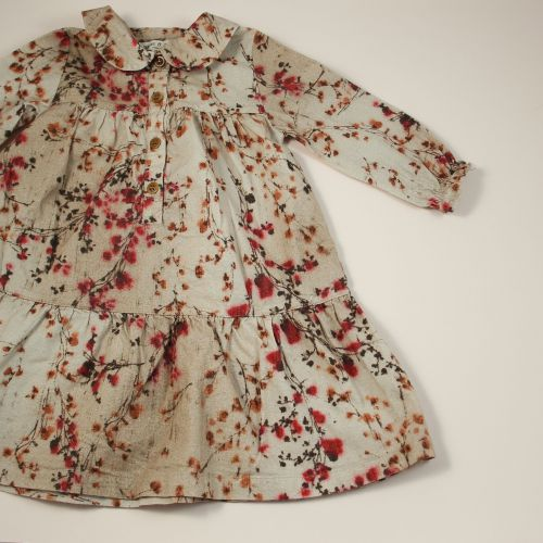 Robe à fleurs 12 mois
