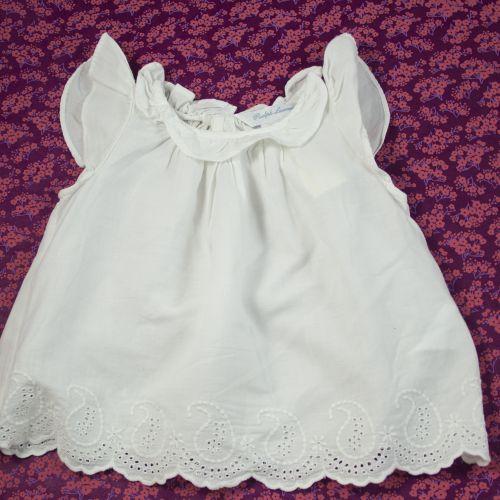 Robe blanche 6 mois