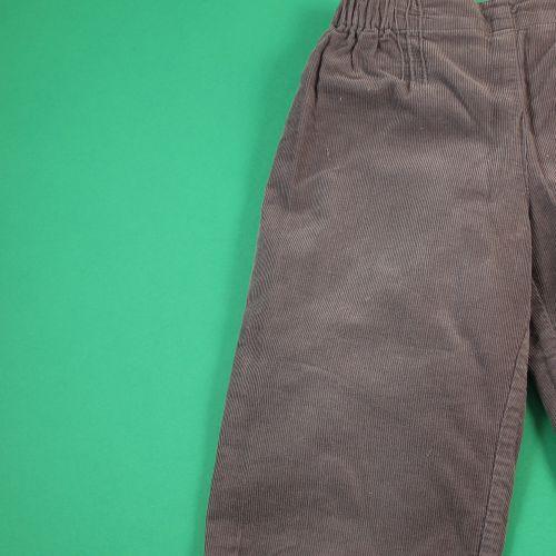 Pantalon en velours 24 mois