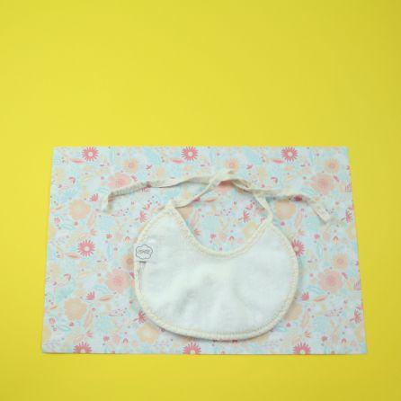 Mini bavoir coton bio