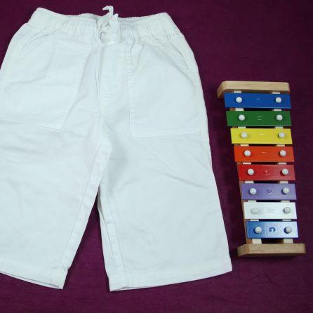 Pantalon blanc 6 mois