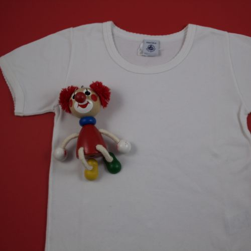 tess-shirt blanc 6 ans