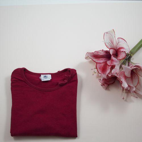 Teeshirt bordeaux 3 ans