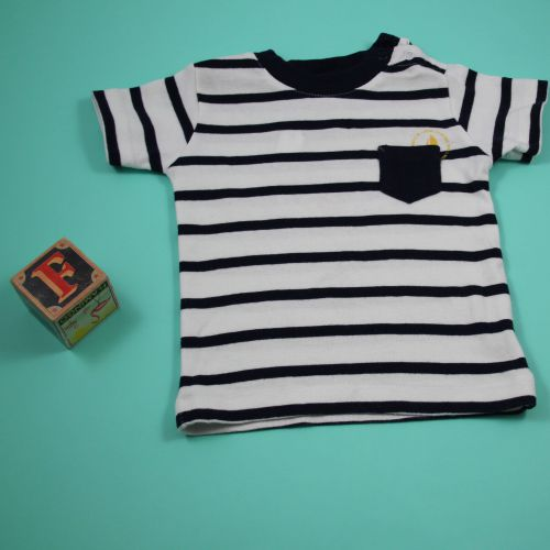 Tee-shirt marin 6 mois