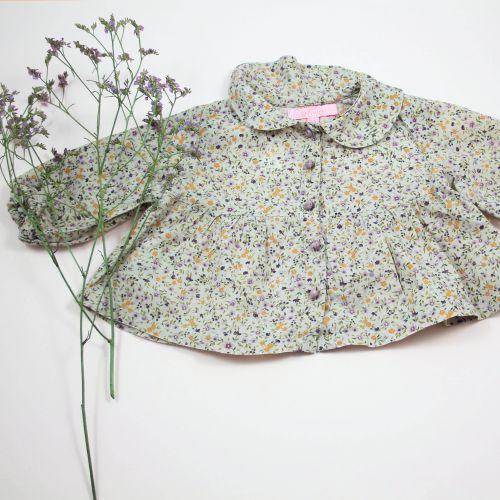 Blouse à fleurs 3 mois
