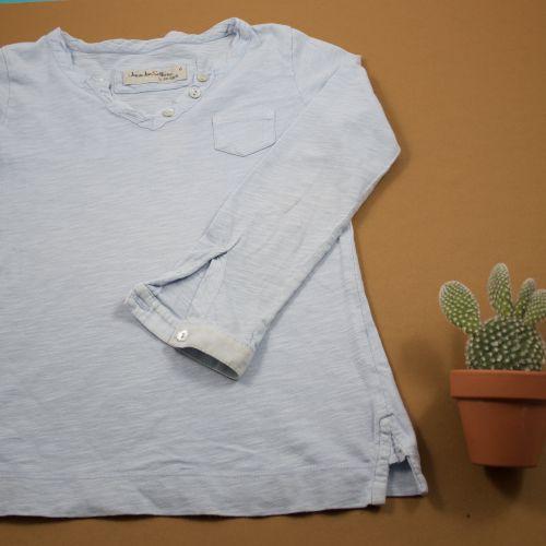 Teeshirt bleu chiné 6 ans
