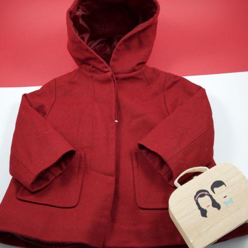 Manteau en laine 18 mois
