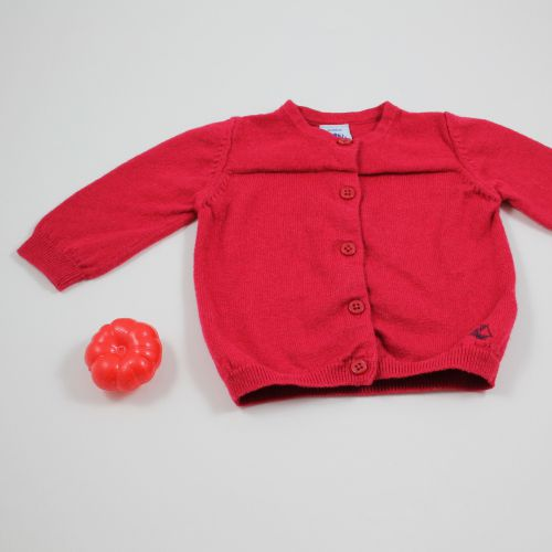 gilet coton & laine 3 mois