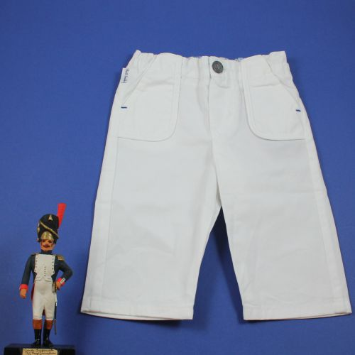 Pantalon blanc neuf 3 mois